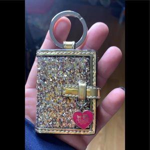 COACH key charm/ID holder